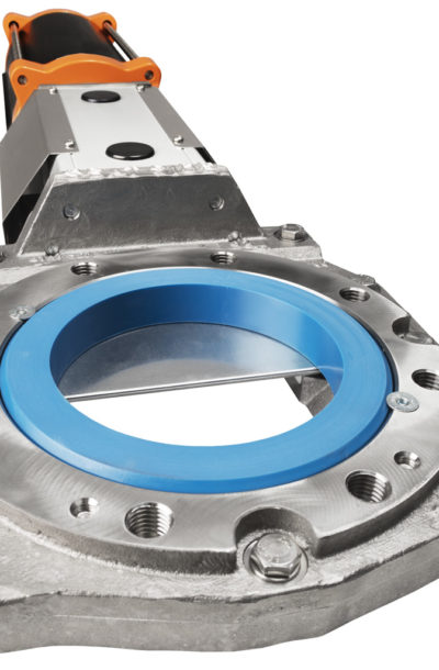 RKO knife gate valve close-up