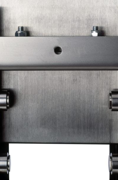 RKS knife gate valve close-up
