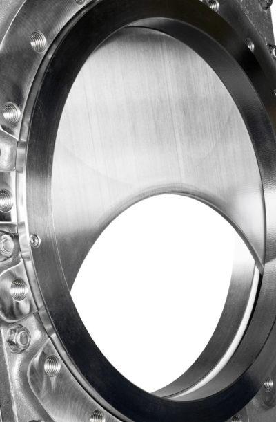 HL knife gate valve close-up