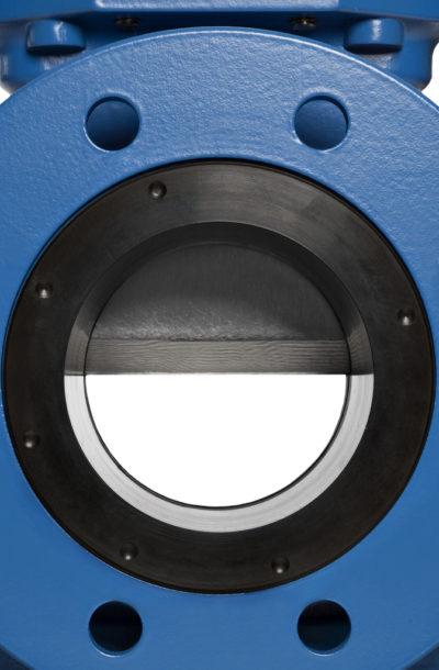 SLF knife gate valve close-up