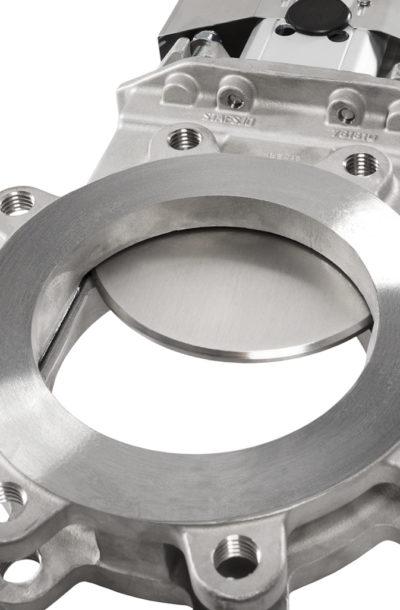 Knife gate valve WB14E close-up
